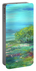 Meadow Trees Portable Battery Charger