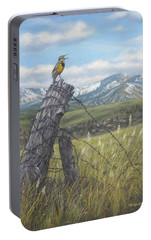 Meadowlark Serenade Portable Battery Charger by Kim Lockman