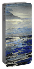 Portable Battery Charger featuring the painting Meaning And Hue by Tatiana Iliina