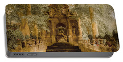 Paris, France - Medici Fountain Oldstyle Portable Battery Charger