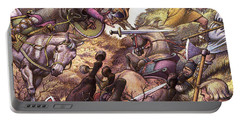 Medieval Battle Scene Portable Battery Charger