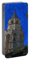 Medieval Bell Tower 2 Portable Battery Charger