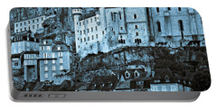 Medieval Castle In The Pilgrimage Town Of Rocamadour Portable Battery Charger