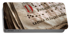 Medieval Choir Book Portable Battery Charger