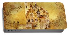 Medieval Golden Castle Portable Battery Charger