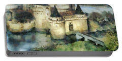 Medieval Knight's Castle Portable Battery Charger