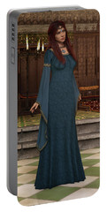 Medieval Queen Portable Battery Charger