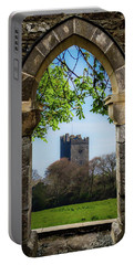 Portable Battery Charger featuring the photograph Medieval Vista Of Dysert O'dea Castle by James Truett