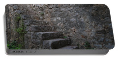 Medieval Wall Staircase Portable Battery Charger by Angelo DeVal