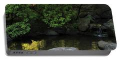 Meditation Pond Portable Battery Charger