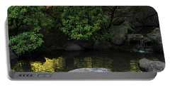Meditation Pond Portable Battery Charger