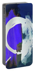 Meditation, White Enso, The Breakthrough Portable Battery Charger by Amara Dacer