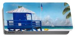 Meet At Blue Lifeguard Portable Battery Charger