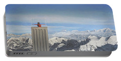 Meeting Table Oil On Canvas Portable Battery Charger
