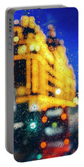 Melancholic London Lights  Portable Battery Charger