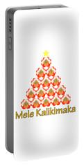 Mele Kalikimaka Portable Battery Charger