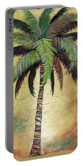 Mellow Palm I Portable Battery Charger by Kristen Abrahamson