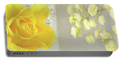 Portable Battery Charger featuring the photograph Mellow Yellow by Lyn Randle