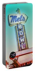Mels Bowl Retro Sign Portable Battery Charger