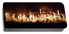 Memorial Candles Portable Battery Charger