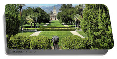 Memorial Chapel University Of Redlands Portable Battery Charger by Mariola Bitner