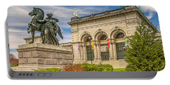 Portable Battery Charger featuring the photograph Memorial Hall - Fairmount Park by Nick Zelinsky