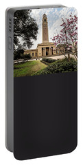 Memorial Tower - Lsu Portable Battery Charger by Scott Pellegrin