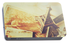 Memories And Mementoes Of Travelling France Portable Battery Charger by Jorgo Photography - Wall Art Gallery