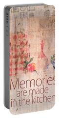 Memories Are Made In The Kitchen Portable Battery Charger