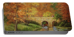 Memories At Stone Bridge Portable Battery Charger