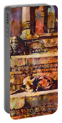Memories Of Happier Times- Nepal Portable Battery Charger by Ryan Fox