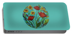 Memories Of The Meadow Portable Battery Charger