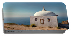 Memory Chapel Monastery On The Cliffs Of Cabo Espichel Sesimbra  Portable Battery Charger