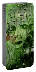 Portable Battery Charger featuring the digital art Memory In The Rain by Darren Cannell