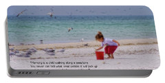 Portable Battery Charger featuring the photograph Memory by Peggy Hughes
