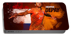 Memphis Depay Portable Battery Charger