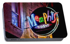 Memphis Music Portable Battery Charger by Stephen Stookey
