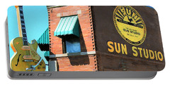 Memphis Sun Studio Birthplace Of Rock And Roll 20160215 Square Portable Battery Charger