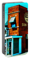 Memphis Sun Studio Birthplace Of Rock And Roll 20160215sketch Portable Battery Charger