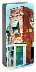 Memphis Sun Studio Birthplace Of Rock And Roll 20160215wcstyle Portable Battery Charger