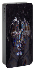 Men Are From Mars Silver Portable Battery Charger by ISAW Gallery