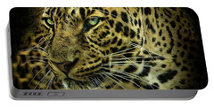 Portable Battery Charger featuring the photograph Menace by Brian Tarr