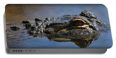 Menacing Alligator Portable Battery Charger