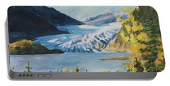 Mendenhall Glacier Juneau Alaska Portable Battery Charger