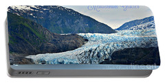 Mendenhall Glacier Portable Battery Charger