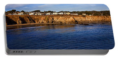 Mendocino Coastal Town Portable Battery Charger