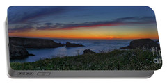 Mendocino Headlands Sunset Portable Battery Charger