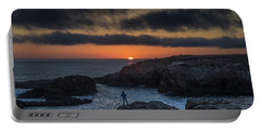 Mendocino Sunset Portable Battery Charger