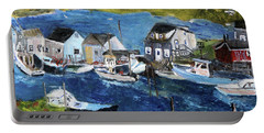 Menemsha Fishing Village Portable Battery Charger