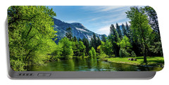 Merced River In Yosemite Valley Portable Battery Charger
